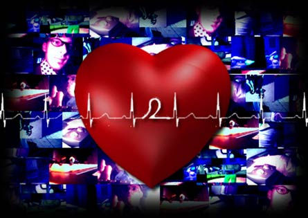 heart2beat :: virtual entertainment :: visuals :: video :: audio ::
